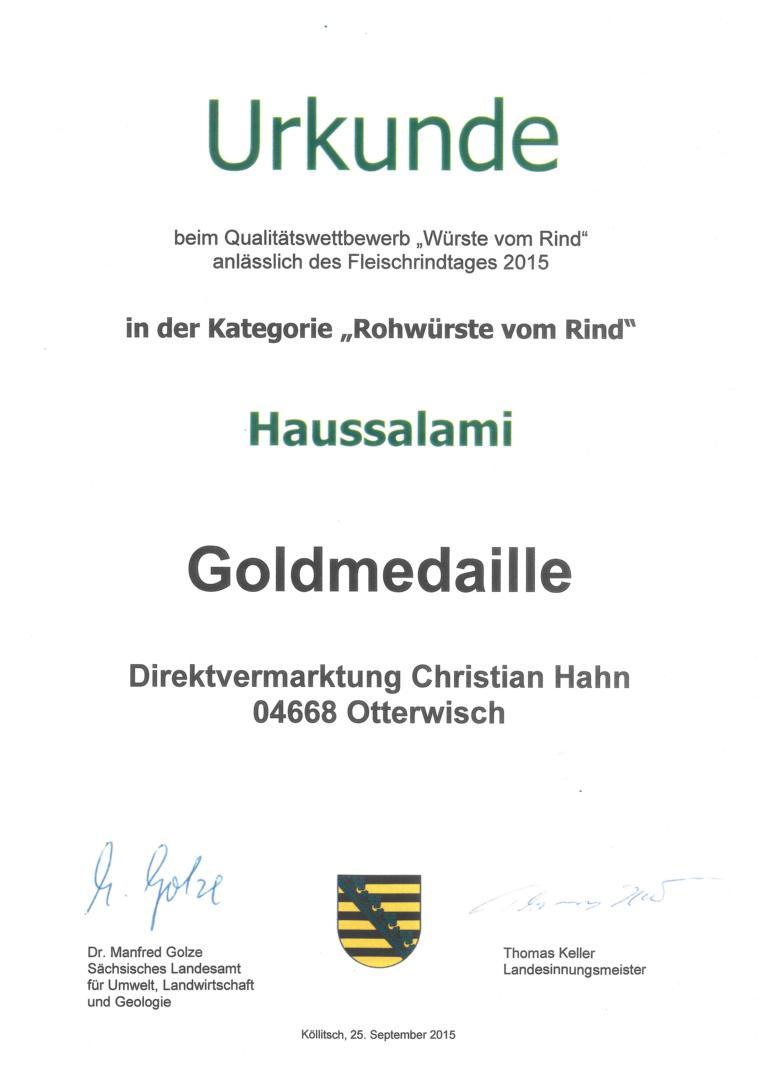 K1024_2015_Urkunde_Rohwürste_vom_Rind