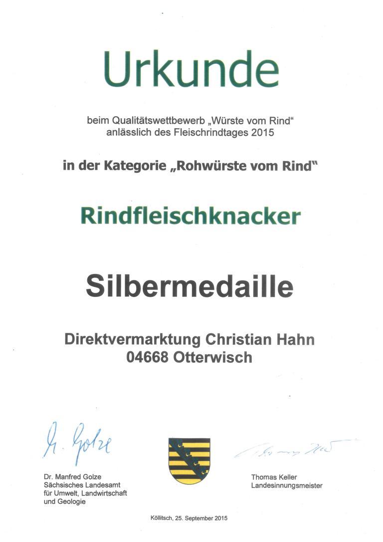 K1024_2015_Urkunde_Rohwürste_vom_Rind_2