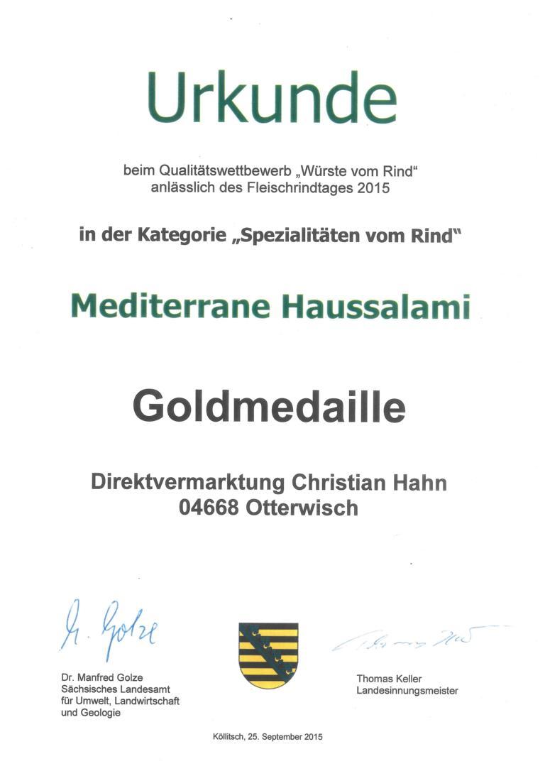 K1024_2015_Urkunde_Spezialitäten_vom_Rind