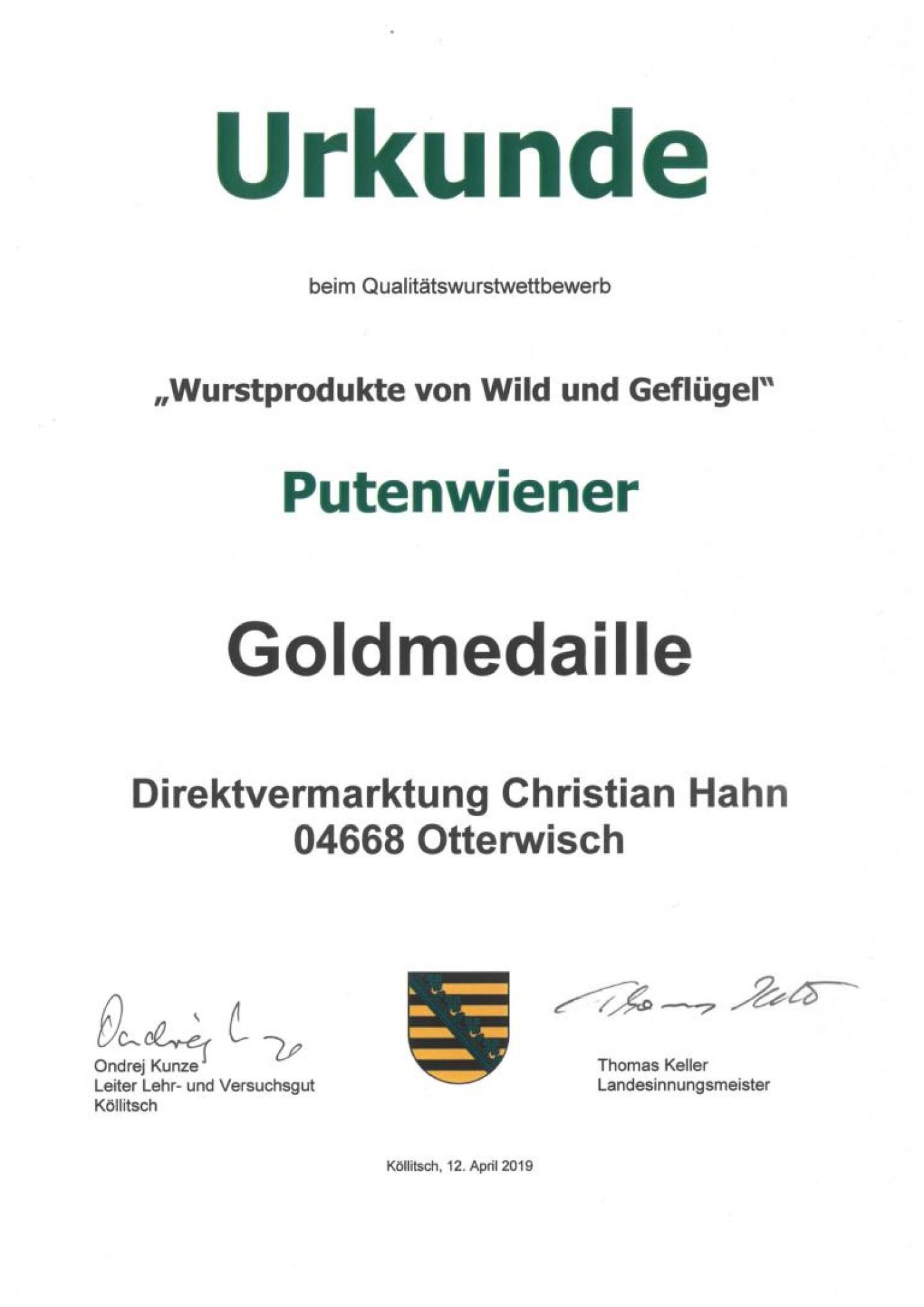 K1024_2019_Urkunde_Wurstprodukte_Wild_und_Gef.2